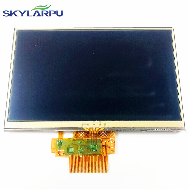 5 inch complete LCD screen display for Tomtom VIA 4EN52 Z1230 LIFE assembly with touch screen digitizer replacement