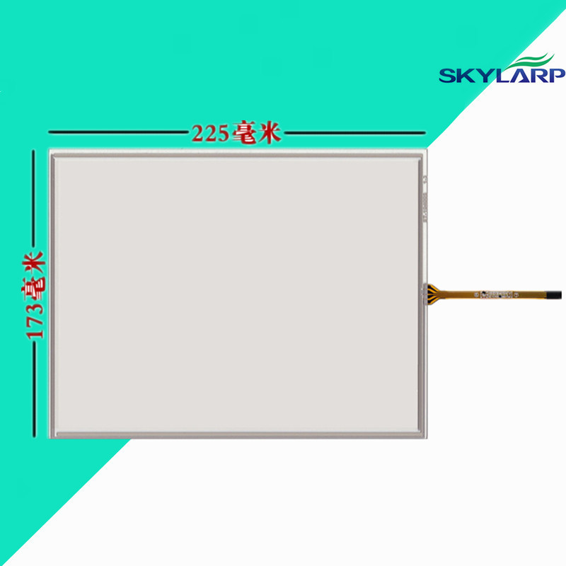 10.4 inch 225*173mm Touchscsreen for N010-0554-X122/01 3g touch screen panel Glass Handwritten