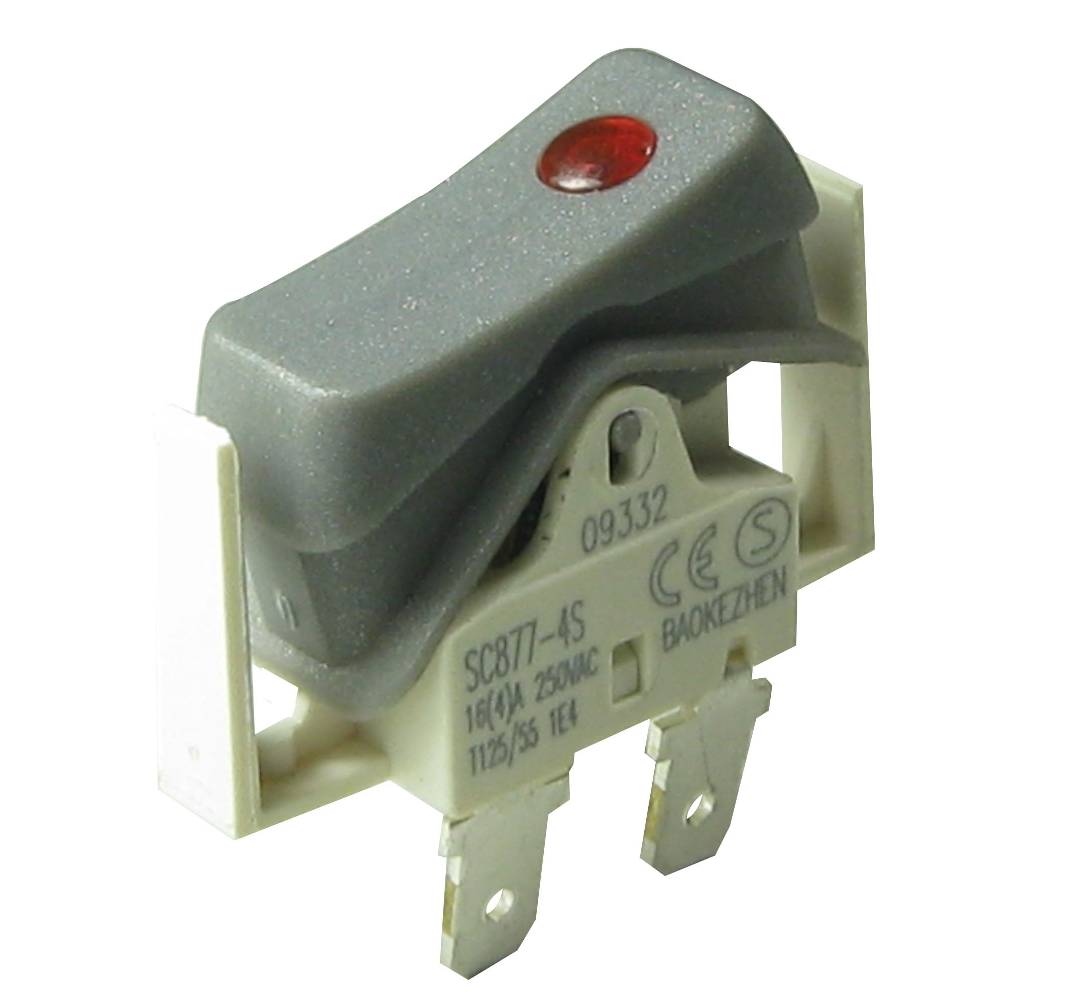 SC877 baokezhen  On-Off 2 pin, On-Off with Led 3pin  Rocker Switch factory