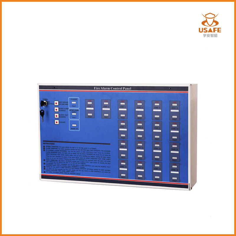 2-10 Zones Conventional Fire Alarm Control Panel, FACP