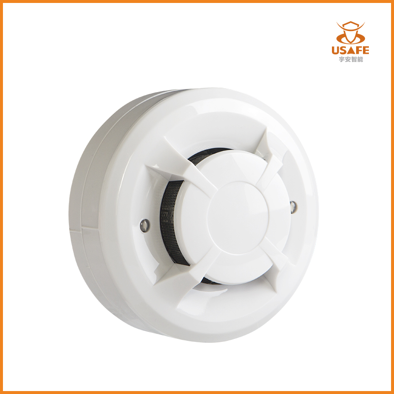 4-Wire Optical Smoke Detector with Relay Output