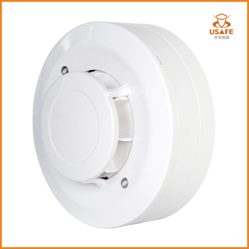 Conventional Fire Alarm Heat Detector, 2-wire/3-wire
