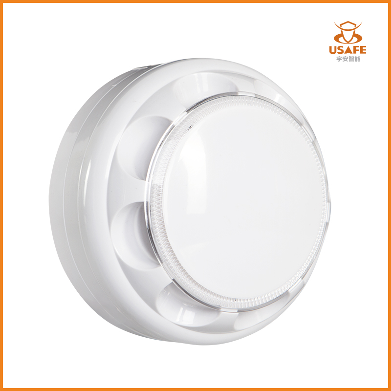 Fixed Temperature / Rate-of-rise Heat Detector for Fire Alarm System