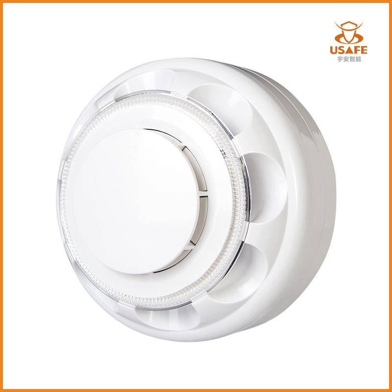 Combined Smoke and Heat Detector, 2-Wire/3-Wire
