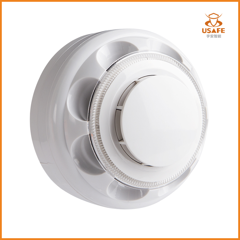 Combination Smoke & Heat Detector Alarm, 4-Wire with Relay Output