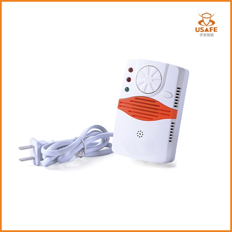Independent Gas Leak Detector, AC220V Cable with Plug