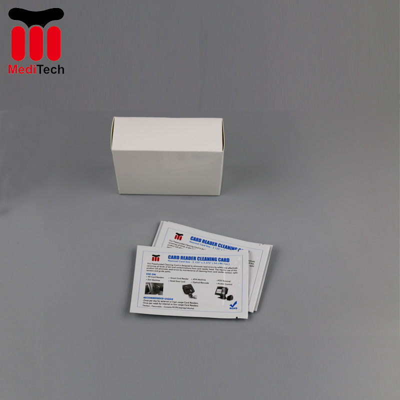 High Quality CR80 Cleaning Card for EZ Card Reader