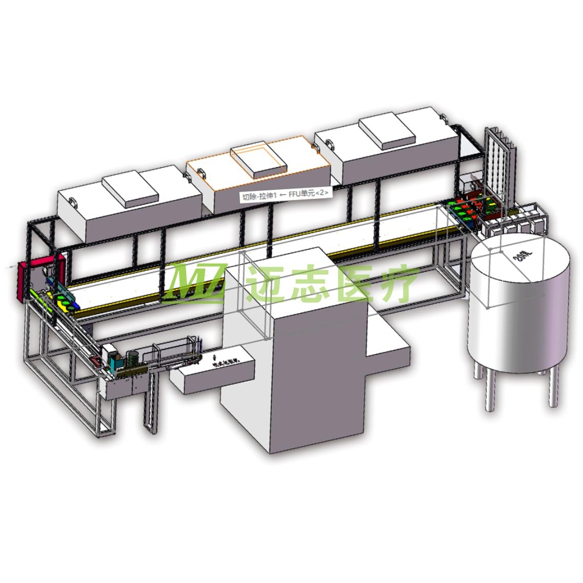 production line machine of Petri Dish Culture Dish Petri Plate Equipment
