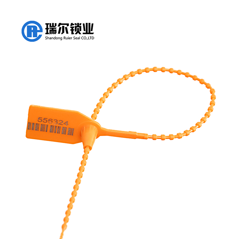 pull tight plastic security tags seal with iso 17712