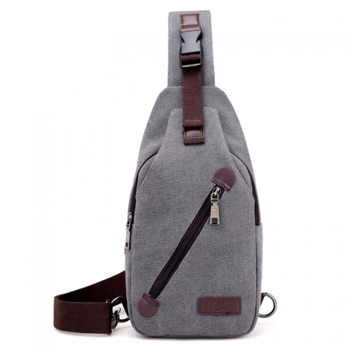 Man Canvas Messenger Bag