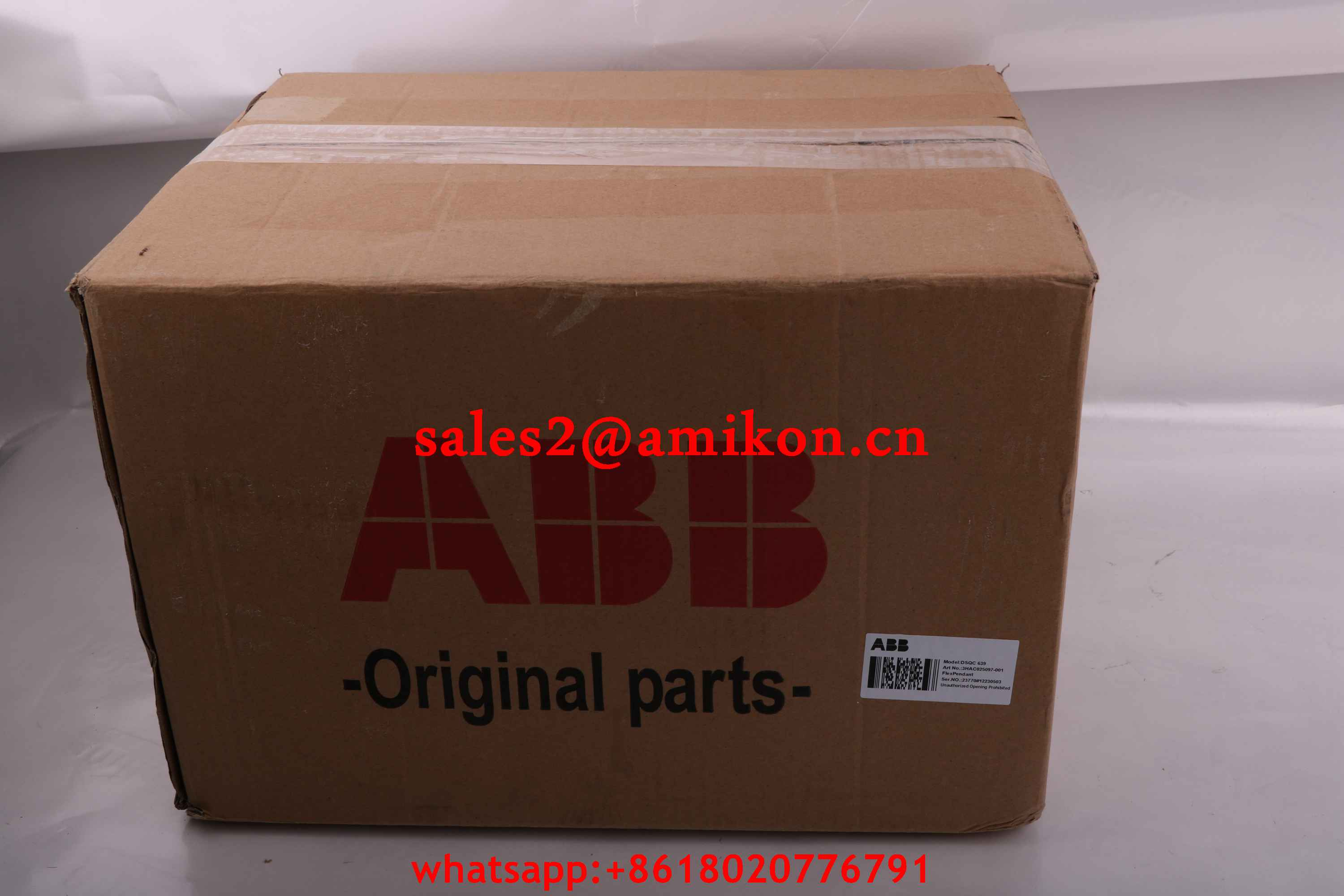 YB560103-CE DSQC236T DriveUnit ABB | Robot spare parts | PLC DCS Parts T/T 100% New In stock