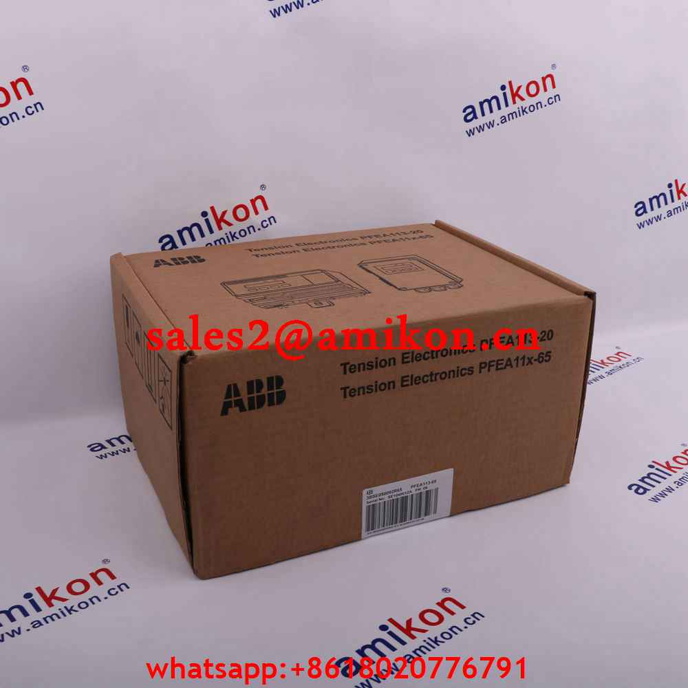 3HAB8101-7/01C DSQC346C DriveUnit ABB | Robot spare parts | PLC DCS Parts T/T 100% New In stock
