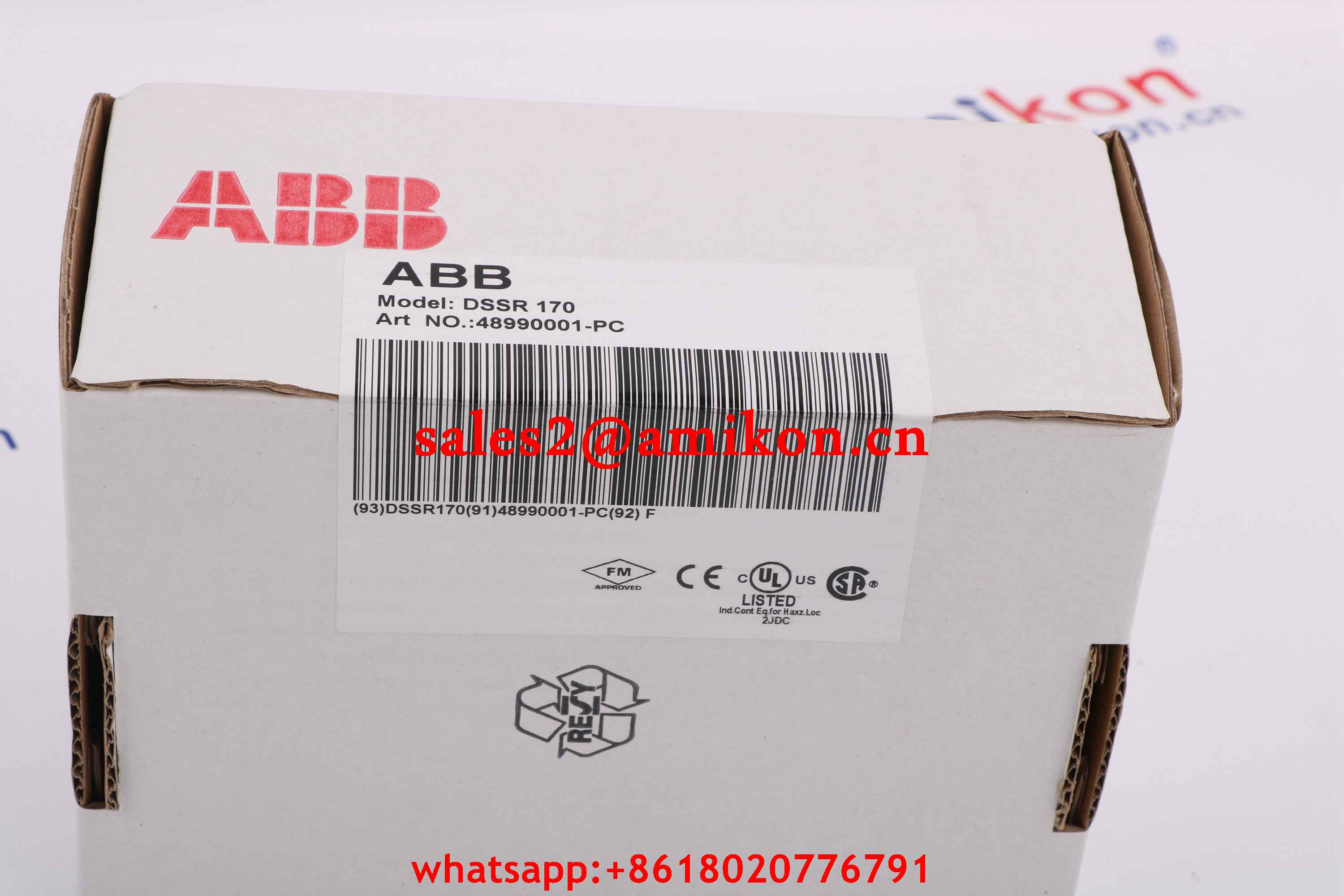 57360001-AN DSMB 125 Semiconductor memory board ABB | Robot spare parts | PLC DCS Parts T/T 100% New In stock