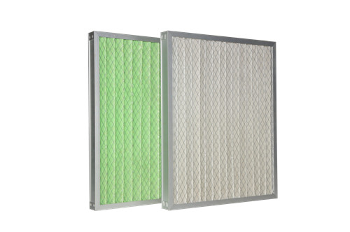 High Efficiency Primary Pleated air foldaway pre filter for Clean room's HVAC