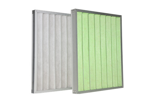 Primary Efficiency Skeleton pleated Panel air pre Filter for Clean room's HVAC