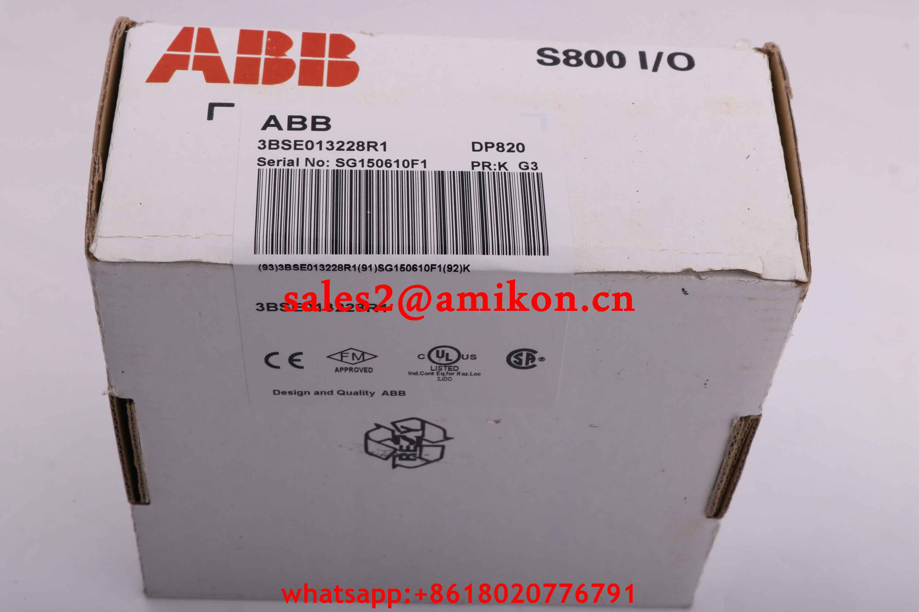 E3E 042816 DSQC 253 Exch. Serial mes. DSQC 253W ABB | Robot spare parts | PLC DCS Parts T/T 100% New In stock