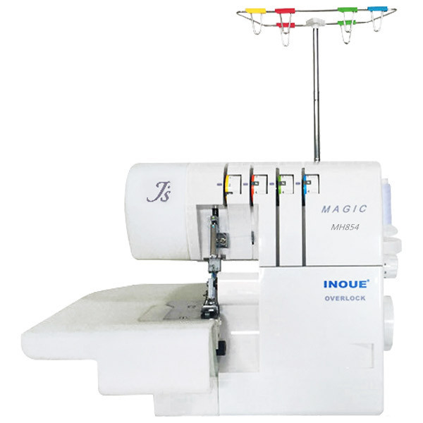 MH854 portable electric 4-fade-overlock machine/inoue sewing machine supplier