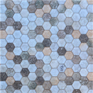 Luxury beautiful inkjet glass mosaic tile