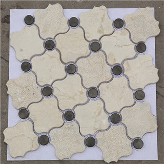 Wholesale waterproof low price porcelain mosaic