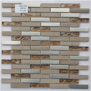 Good quality convenience decoration glass mosaic tile manufacturer