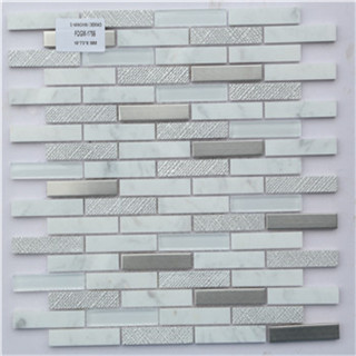 High-grade special design glass mosaic tile for luxury wall decoration