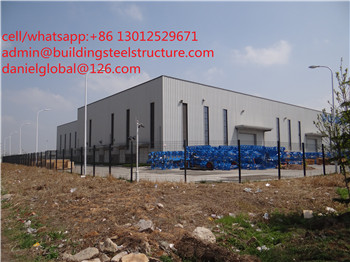 light steel structure workshop shed high quality
