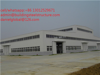 light steel prefab steel structure workshop