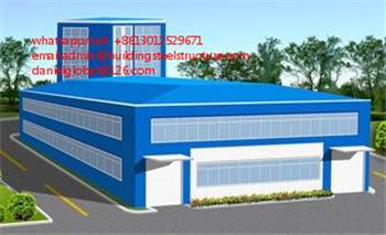 large span steel structure warehouse for industrial using