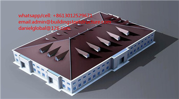 galvanized steel structures industrial warehouse construction