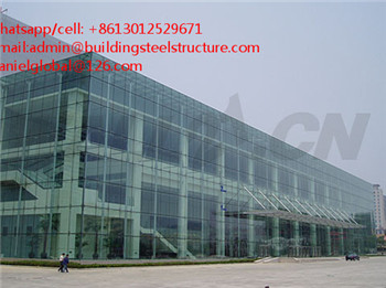 iso cheap steel structure prefab car showroom