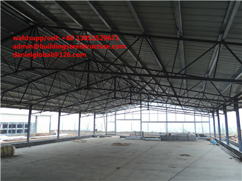 Steel Structure Prefabricated Poultry House high quality