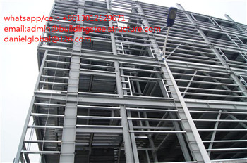 steel multy floor hotel building good quality