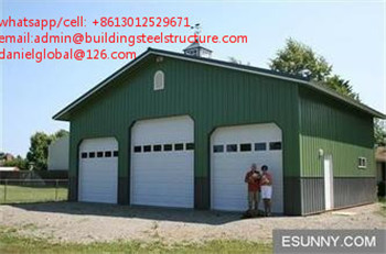 Light Weight Steel Aircraft Hangar Prefabricated Design