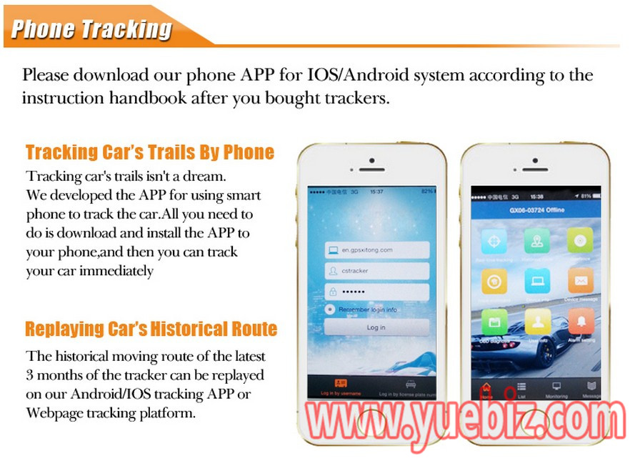 china car gps tracker manufacture