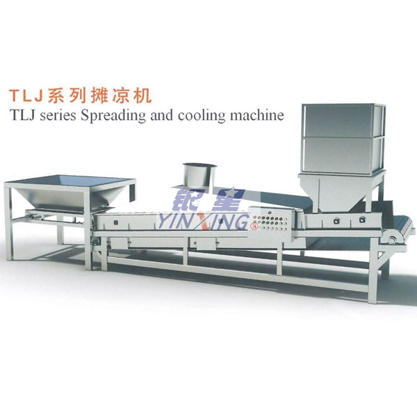 Good quality superior convenient TLJ series spreading and cooling machine