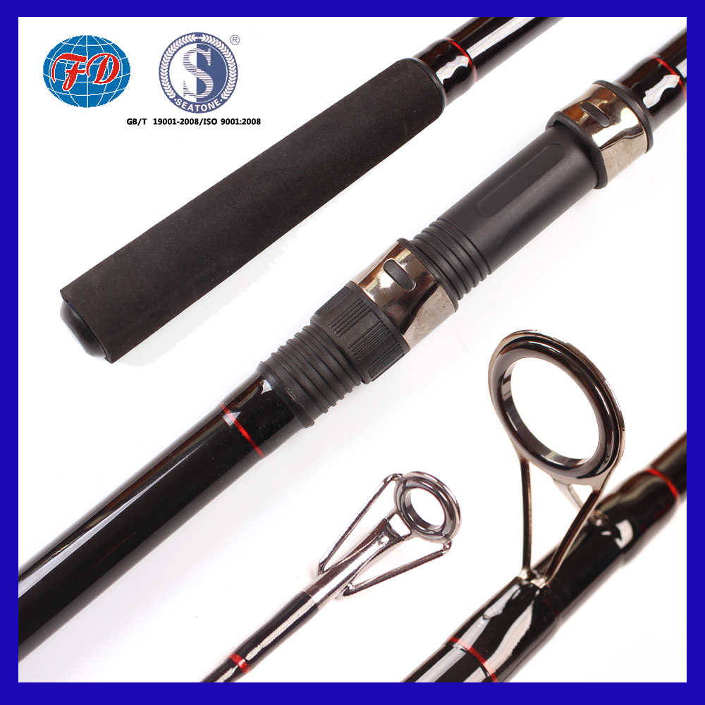 FD008 high grade 3.6m 3.9m 3 section CARP fishing rod