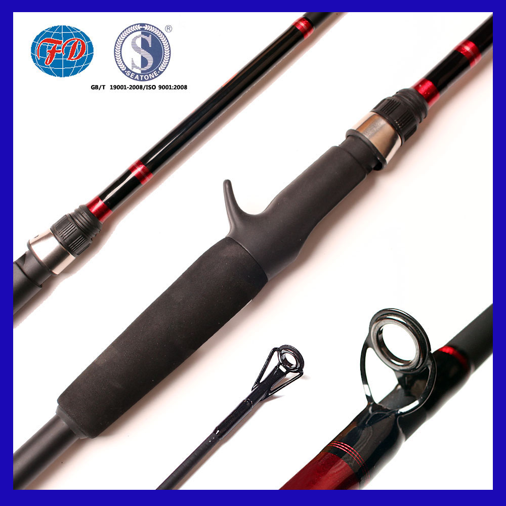 1.52m 1.68m 1.83m 1.98m strengthen fiber glass spinning &casting fishing rod