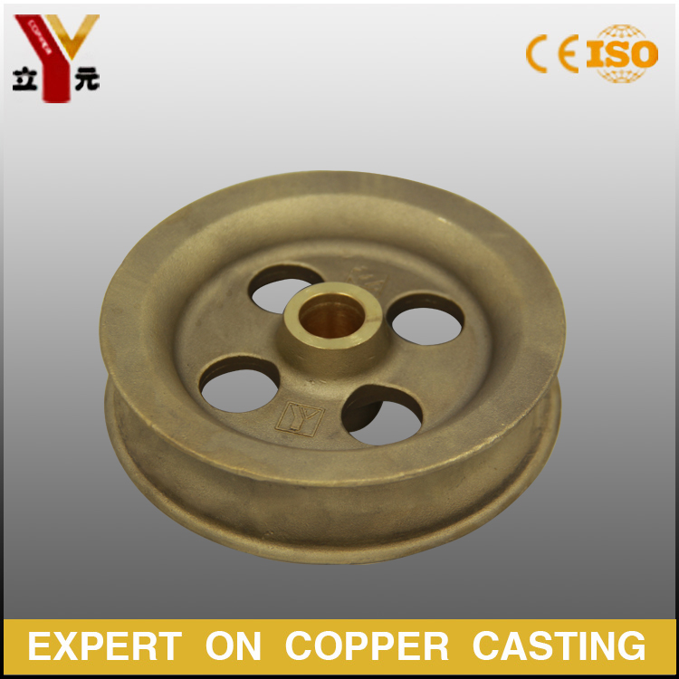 China factory railway overhead line electrification bronze / brass casting parts
