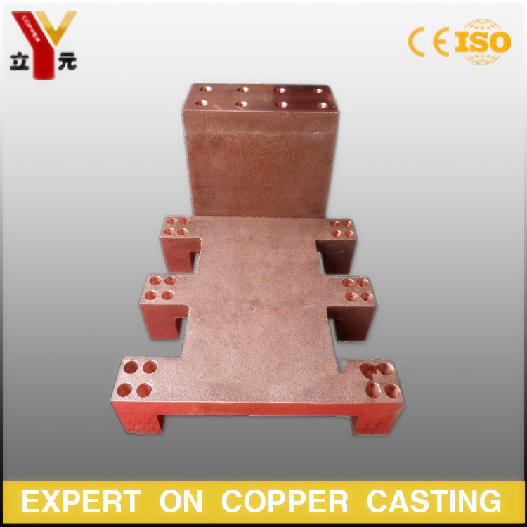 High conductivity cast and forged red copper parts manufacturer