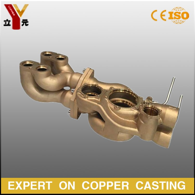 Silica sol precision lost wax cast copper parts manufacturer