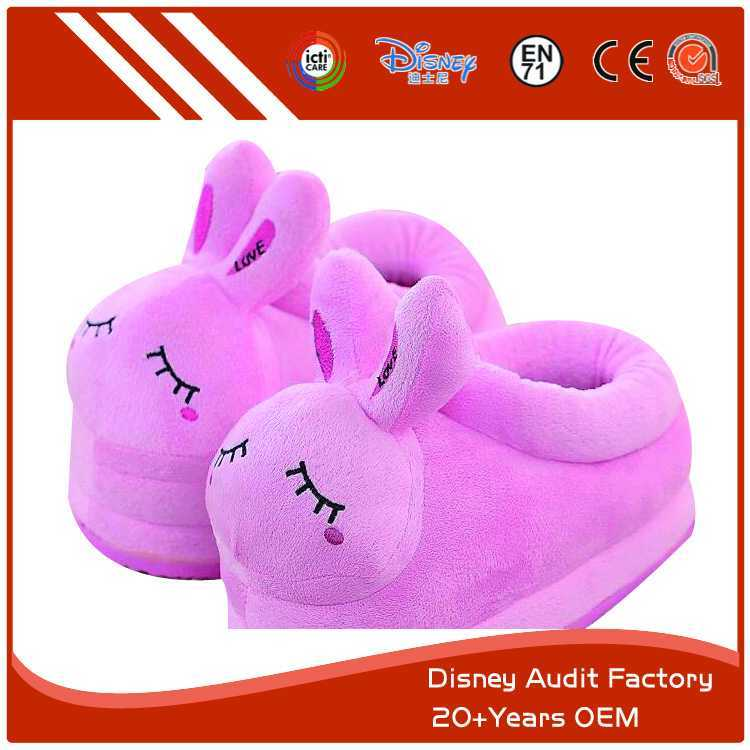 Pink Rabbit Slippers