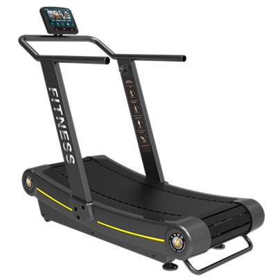 Gym use treadmill non motorized treadmill no power curve for Best non motorized treadmill