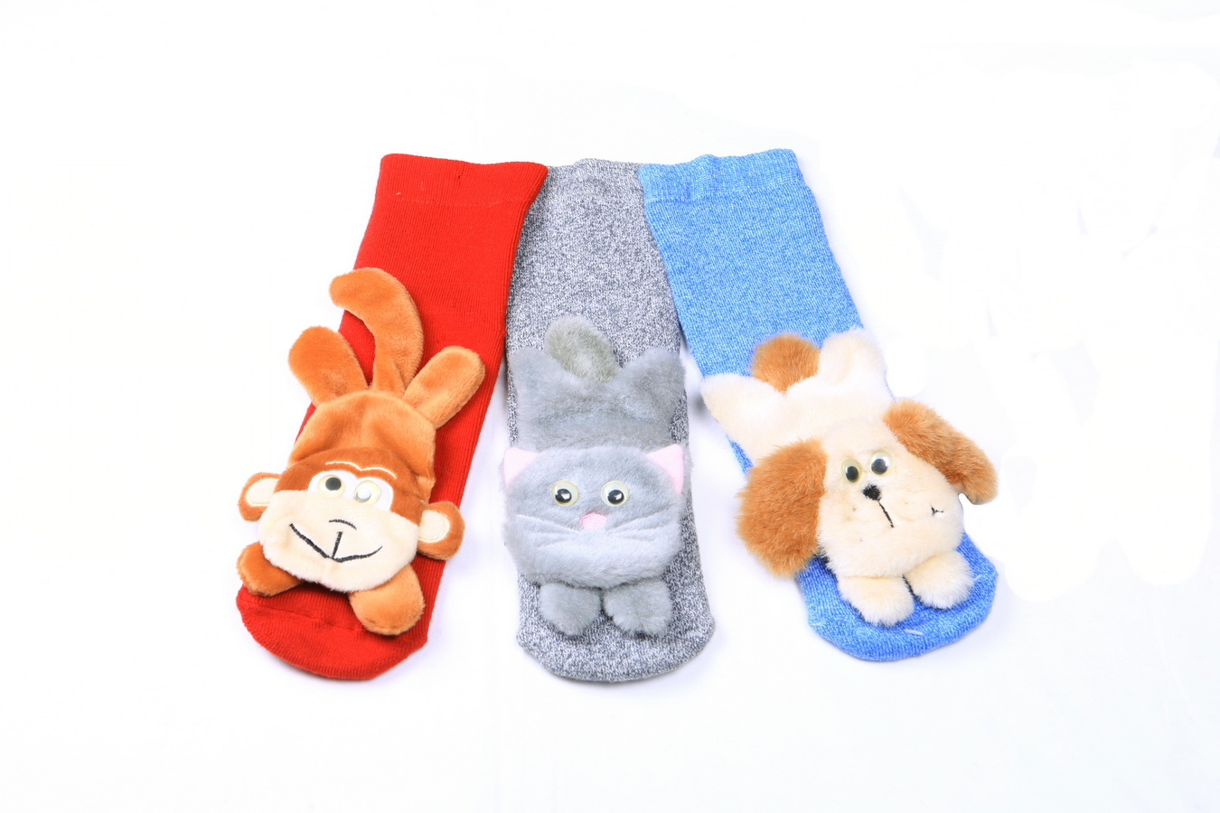 Kid's full cushion toy socks