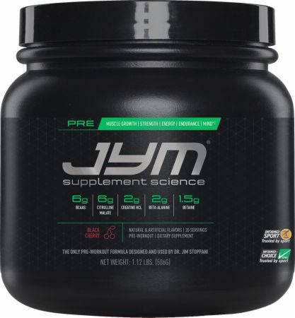 Pre JYM Supplement Science