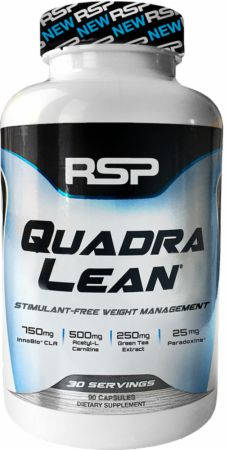 RSP Nutrition QuadraLean Stimulant Free Weight Loss Capsule