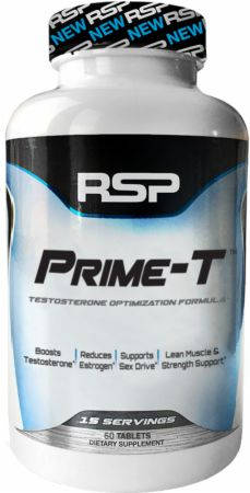 RSP Nutrition Prime-T Scientifically Formulated Testosterone