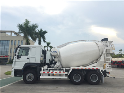 China CNHTC Chassis 7cbm Concrete Mixer Truck for sale