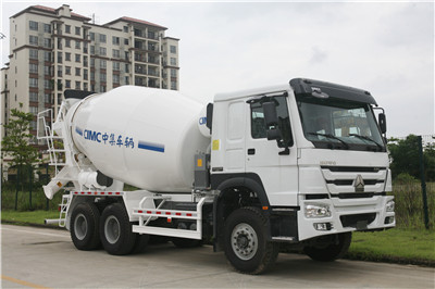BW300TP CNHTC Chassis 10cbm self-loading Concrete Mixer Truck