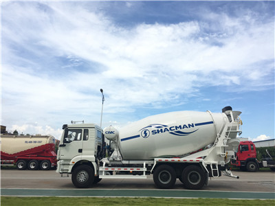 high efficiency SHACMAN Chassis 12cbm Hydraulic Pump Concrete Mixer Truck manufacturer