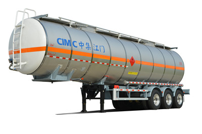 Factory Directly 40KL Liquid Tanker stainless steel Thermal Food Tanker
